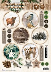3D Die Cut Sheets
