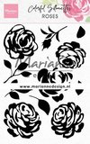 Marianne Design Stempel - Colourful Silhouettes: Roses CS1046_