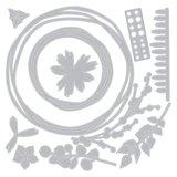 Sizzix Thinlits Die - Winter Garland 664580_