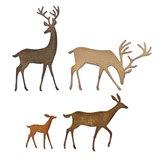 Sizzix Thinlits Die - Darling Deer 664968_