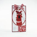Tonic Studios Rococo Die Christmas - Snowy Postbox 1377E OP=OP_