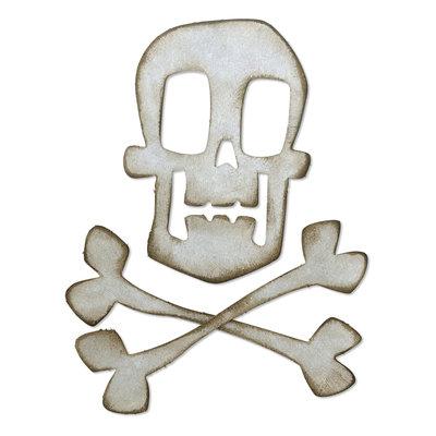 Sizzix Bigz Die - Skull & Crossbones 664215