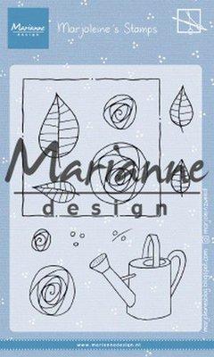 Marianne Design Stamp - Marjoleine's Roses MZ1901
