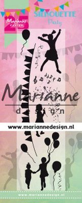 Marianne Design Stamp - Silhouette Party Limited Edition CS1038