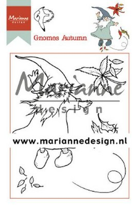 Marianne Design Stamp - Hetty's Gnomes Autumn HT1647