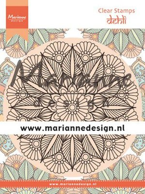 Marianne Design Stamp - Mandala Delhi CS1035