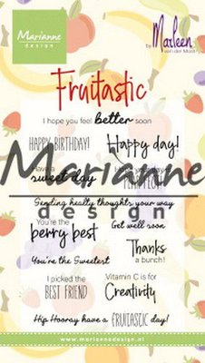 Marianne Design Stamp - Marleen's Fruitastic CS1031