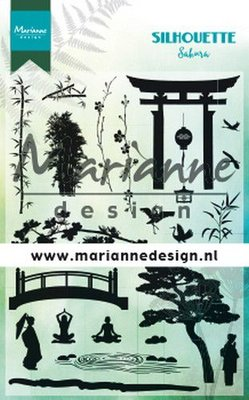 Marianne Design Stamp - Silhouette Sakura CS1033