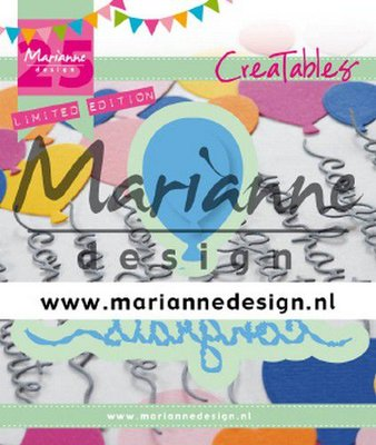 Marianne Design Creatable - Congrats & Balloon limited edition LR0626