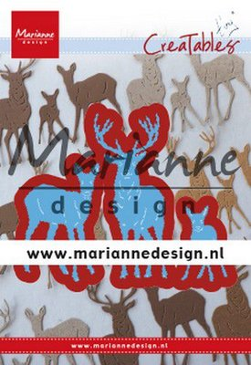 Marianne Design Creatable - Tiny's Deer Family LR0615