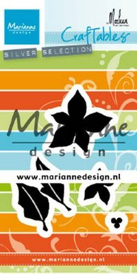Marianne Design Craftable - Poinsettia by Marleen CR1478