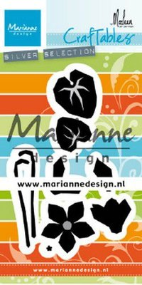 Marianne Design Craftable - Cyclamen by Marleen CR1479