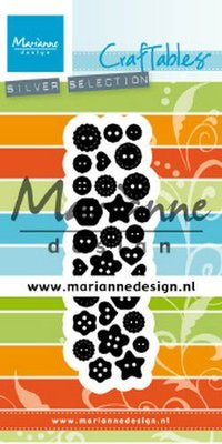 Marianne Design Craftable - Punch Die Buttons CR1480