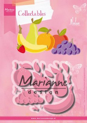 Marianne Design Collectable - Fruit COL1469