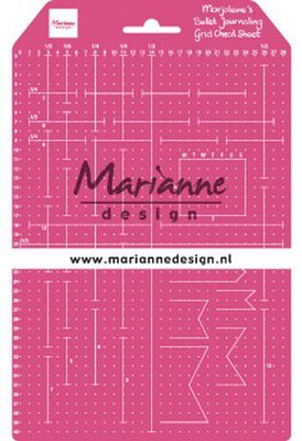 Marianne Design Grid Cheat Sheet  LR0030