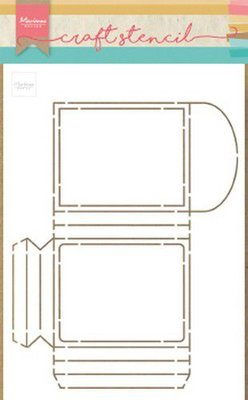 Marianne Design Craft Stencil -  PS8043