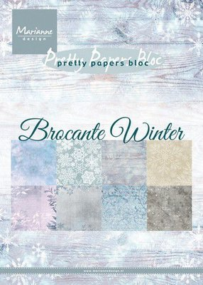 Marianne Design Paper Pack A5 - Brocante Winter PK9165