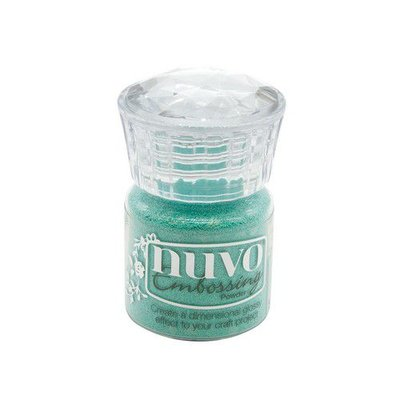 Nuvo Embossing Powder - Turquoise Lagoon 616N