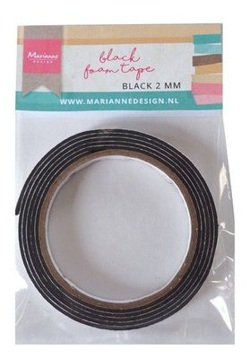Marianne Design Foam Tape - Black 2 mm LR0027