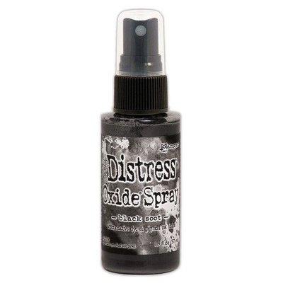 Ranger Distress Oxide Spray - Black Soot TSO67566