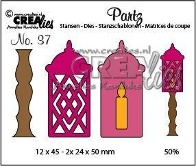 Crealies Partz 37 - Lantern CLPartz37