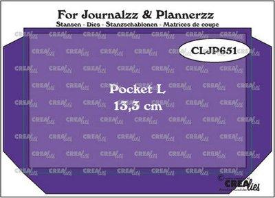 Crealies Journalzz & Plannerzz - Pocket L CLJP651