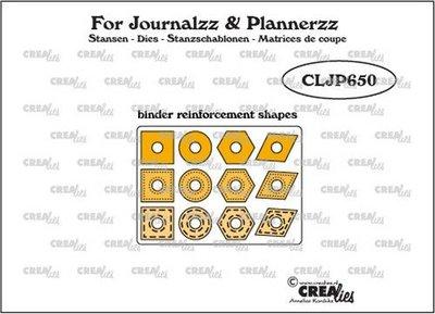 Crealies Journalzz & Plannerzz - Binder Reinforcements CLJP650