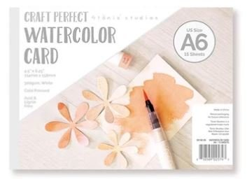Tonic Studios Craft Perfect - Watercolor Pad A6 9574E