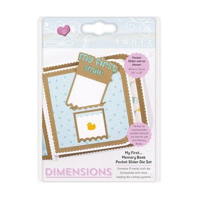Tonic Studios Die - Memory Book Pocket Slider My First.. 2507E
