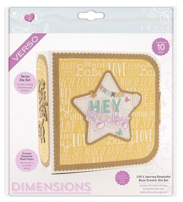 Tonic Studios Die - Life's Journey Keepsake Base Creator 2505E