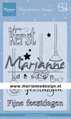 Marianne Design Stamp - Marjoleine's Baubles MZ1906