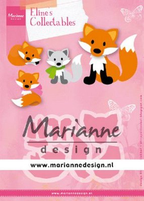 Marianne Design Collectable - Eline's Cute Fox COL1474