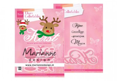 Marianne Design Collectable - Eline's Kerst Rendier COL1476