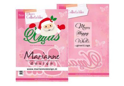Marianne Design Collectable - Eline's Xmas Santa COL1477