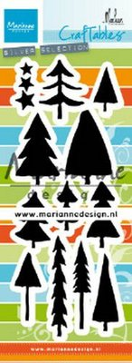 Marianne Design Craftable - Trees by Marleen CR1483