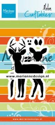 Marianne Design Craftable - Deer by Marleen CR1485