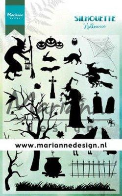 Marianne Design Stamp - Silhouette Halloween CS1039
