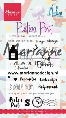 Marianne Design Stamp - Pietenpost by Marleen CS1042