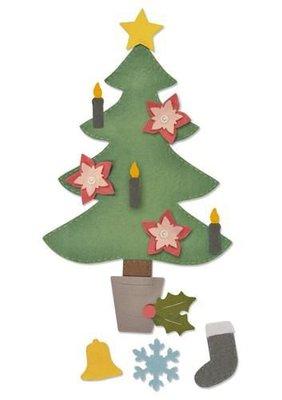 Sizzix Bigz Plus Die - Christmas Tree #2 662969