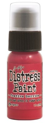 Ranger Distress Paint - Festive Berries TDD38535