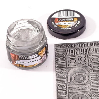 Coosa Crafts Gilding Wax - Silver COC-001