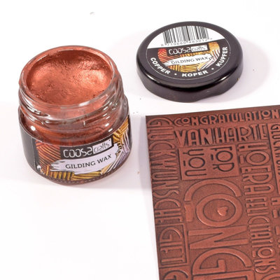 Coosa Crafts Gilding Wax - Copper COC-002