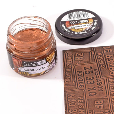 Coosa Crafts Gilding Wax - Bronze COC-004