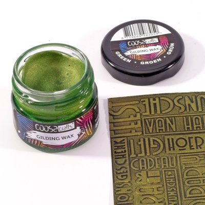 Coosa Crafts Gilding Wax - Metallic Green COC-006