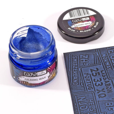 Coosa Crafts Gilding Wax - Metallic Blue COC-008
