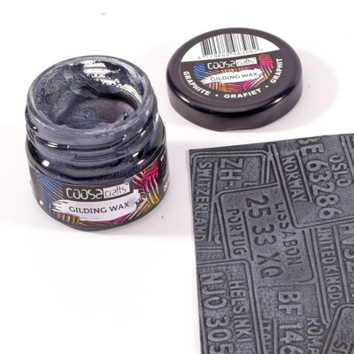 Coosa Crafts Gilding Wax - Graphite COC-011