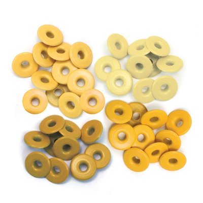 We R Memory Keepers Wide Eyelets - Yellow