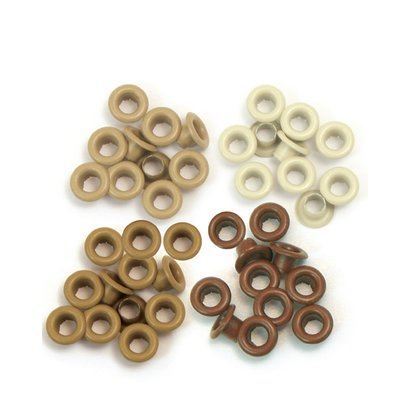 We R Memory Keepers Eyelets - Brown