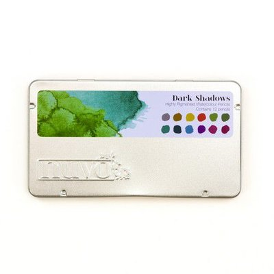 Nuvo Watercolor Pencils - Dark Shadows 524N