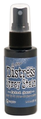 Ranger Distress Spray Stain - Faded Jeans TSS42266